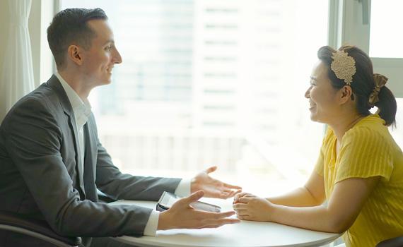 池袋英会話-池袋で周囲を気にせずプライベート英会話レッスン-意見交換